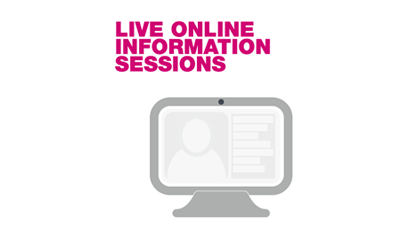 Postgraduate Online Information Sessions